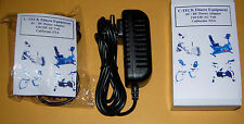 New For GOLDS GYM Power Spin 210U 230R 390 290U AC Adapter Power supply Fst ship