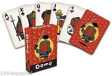 Domo Japanese Samurai Playing Cards 3D Poker Manga Monster Mascot New Mint