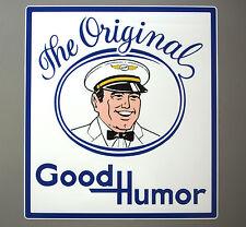 "GOOD HUMOR MAN Ice Cream Truck Decal / Sticker - 18"" x 20"""