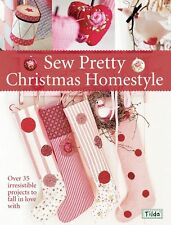 Tilda's Sew Pretty Christmas Homestyle - Pattern Booklet - Tone Finnanger