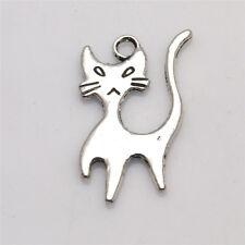 Art Cat Tibet Silver Pendants Charms Jewelry Findings  alloy Pendants TA685