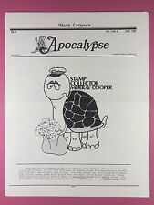 Harry Lorayne's APOCALYPSE - Magicians Newsletter  Vol.5 / No.6 - 1982 - Magic