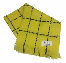 Rupert The Bear Style Scarf 100% Pure Wool Made In Scotland