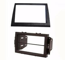 2006-2007 Jeep Commander Radio Stereo Double Din Dash Install Kit Bezel