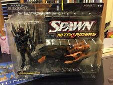McFarlane's Spawn: Afterburner NitroRiders-Bike & figure,  NIB, 1999