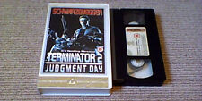 TERMINATOR 2 JUDGMENT DAY RARE 2nd UK PAL VHS BIG BOX VIDEO 1991 SCHWARZENEGGER
