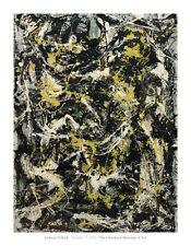 Number 5, 1950, 1950 by Jackson Pollock Art Print Abstract Museum Poster 28x36