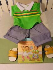American Girl Bitty Baby Twin Boy Drummin Up Fun Outfit book NIB