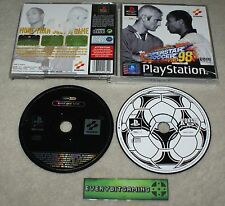 International SUPERSTAR SOCCER ISS PRO 98 & METAL GEAR SOLID DEMO-Gioco ps1 PAL