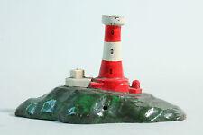 40er Jahre Wiking Leuchtturm ohne Lampe & Verkabelung / Metallguß