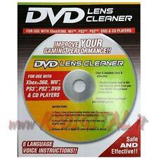 KIT PULITORE LENTE OTTICA LASER PULIZIA CD DVD PC CONSOLE VIDEOGIOCO COMPUTER