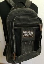 Dakar Backpack Planet Ocean Studio Distress Gray Multiple Pockets Adjustable