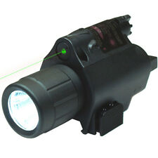 Tactical Powerful Green Laser Sight - CREE LED Flash Light Combo with Rail Mount