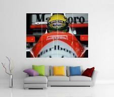 AYRTON SENNA CASQUE F1-GIANT WALL ART PHOTO PRINT POSTER
