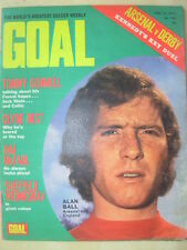 GOAL MAGAZINE FEBRUARY 12 1972 SHEFFIELD WEDNESDAY - ALAN BALL - BERNARD SHAW