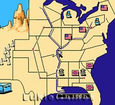 North And South - Rare NES Nintendo Game