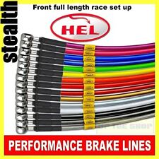 BMW R1100S Boxer Cup 2003-05 HEL Stainless steel Brake lines / hose Race