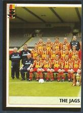 PANINI SCOTTISH PREMIER LEAGUE 2003- #336-PARTICK THISTLE TEAM PHOTO-LEFT HALF
