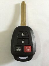 "2014 to2016  TOYOTA COROLLA ""H"" STAMPED KEY KEYLESS REMOTE FOB FCC ID:HYQ12BEL"