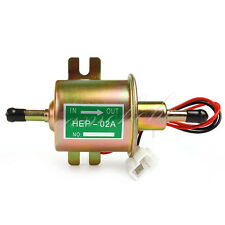 12V Fuel Pump Petrol Diesel Low Pressure Universal Inline Electric Pump HEP-02A