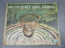 MR CRABTREE GOES FISHING By Bernard Venables - 1958 - Daily Mirror Publication