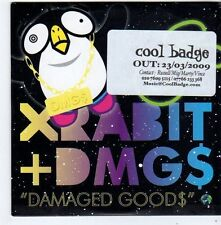 (FG366) Xrabit + DMG$, Damaged Goods - 2009 DJ CD