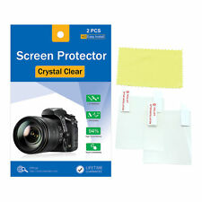 4Pcs Crytstal clear LCD Screen Protector Film LCD For Nikon D5200 D5100