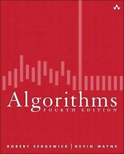 Algorithms by Robert Sedgewick and Kevin Wayne (2011, Hardcover)