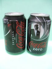 SKYFALL 007 JAMES BOND COCA COLA LOT DE 3 CANETTES VIDES