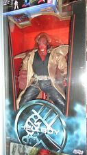 "MEZCO HELLBOY THE MOVIE HELLBOY OPENED MOUTH RARE 18""INCH ACTION FIGURE"