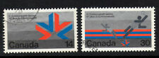 (Ref-3648) Canada 1978 Commonwealth Games  SG.908/909   Used Set of 2
