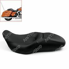 Sundowner Comfort Leather Seat For Harley Touring Street Glide Road King 07-15 B