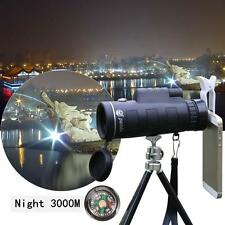 Panda 35x50 HandHeld Adjustable Night Vision Monocular Telescope W/ Compass UP