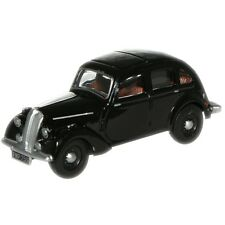 1:76 Black Oxford Diecast Standard Flying Twelve - Model Car Collectable Gift