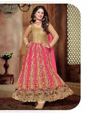 New Anarkali Top Designer Salwar Kameez Indian Bollywood Straight Pakistani Suit