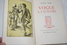 VOGUE LA GALERE-MARCEL AYME-1944 ALFA THEATRE