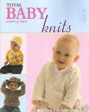 "Knitting patterns - ""total baby knits"" - 17 baby designs"