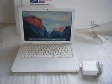 """Apple MacBook 13.3"""" Laptop 5,2 (A1181) 2.0GHz C2D, 320GB HD 2GB, EL Capitan"""