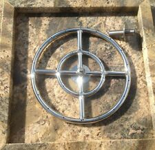 "FR12: 12"" Double Fire Ring & Plug; MARINE GRADE lifetime 316 Stainless Not 304!"