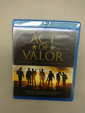 Act of Valor (Blu-ray/DVD, 2012, 2-Disc Set,) Discs=Near Mint Case=Good