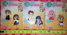 RARE TAITO Prize Baka and Test to Shokanju Figure Fridge Magnet Complete set