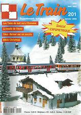 LE TRAIN N° 201 SPECIAL EXPOMETRIQUE / TALGO DE NUIT / WHITE CHRISTMAS / TEOZ