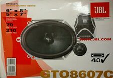 "JBL GTO 8607C / GTO8607C 210 Watts 2-Way 6""x8"" / 5""x7"" Car Speakers"