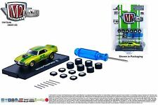 1:64 M2 Machines *AUTO-WHEELS R3* 1968 Pontiac Firebird 400 HO w/ WHEEL KIT NIP