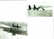 2: 4X6 CLARE VANCE'S FLYING WING MASON METEOR RACING AIRPLANE PHOTOGRAPH SET #62
