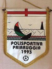 GAGLIARDETTO UFFICIALE CALCIO  POLISPORTIVA PRIARUGGIA 1993 GENOVA  - LIGURIA