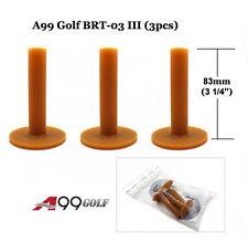 A99 Golf BRT-03 III Rubber Tee Brown 3pcs/pack