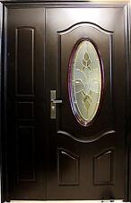 A57, Tür,Wohnungstür,Haustür,Sicherheitstür,Türen,R  Außen 1300x2050mm Braun