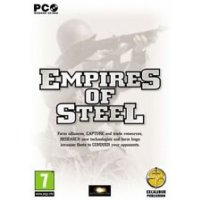Empires of Steel Game PC 100% Brand New