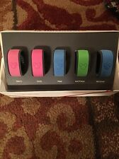 Walt Disney World Magic Bands Set of 5 With Incredibles Box Mixed Colors